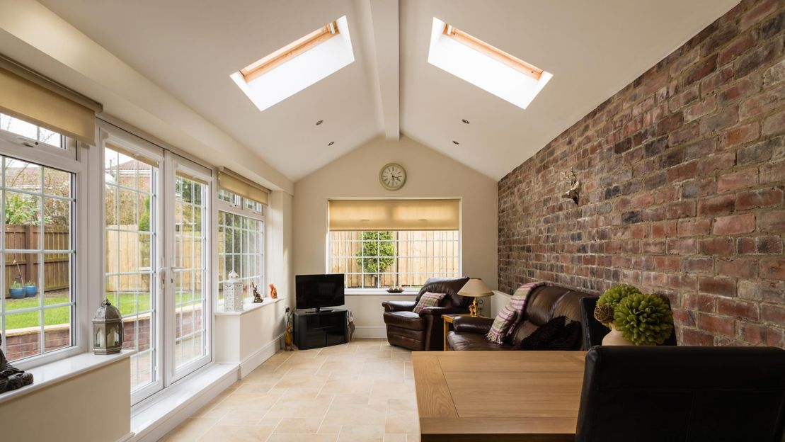 interior view of a extension that has been complete by our team